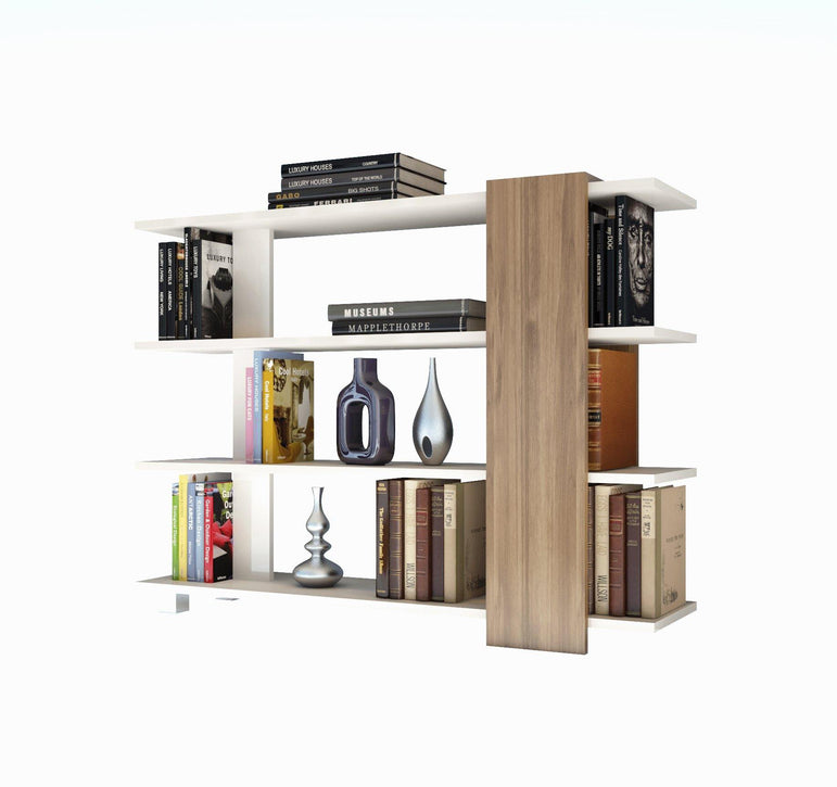 Decorotika Vermont 35'' High Accent Wood Bookcase
