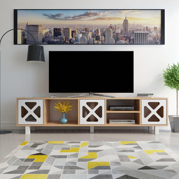 "Rio 71"" Wide Modern TV Stand & Media Console - Decorotika"