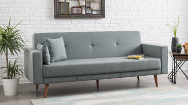 Dublin Sofa Bed - Blue - Decorotika