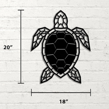 Turtle Handmade Metal - Decorotika
