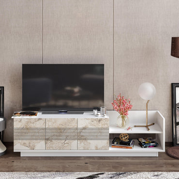 "Viano TV Stand and Media Console for TVs up to 47"" - Decorotika"