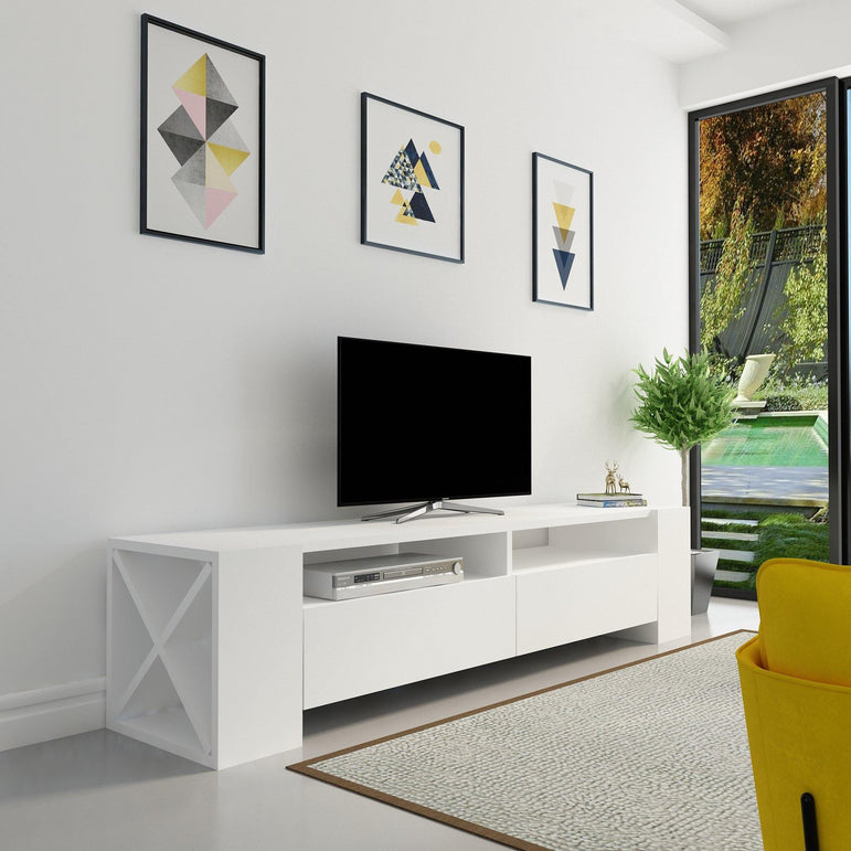 "Sosruko 60"" Wide TV Stand & Media Console - Decorotika"