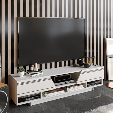 "Aspatria 63"" TV Stand and Media Console - Decorotika"