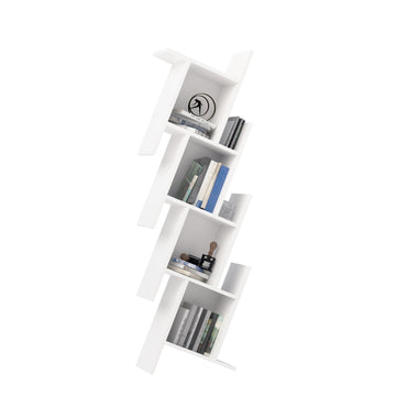 "Broadway 64"" Tall Geometric Bookcase - Decorotika"