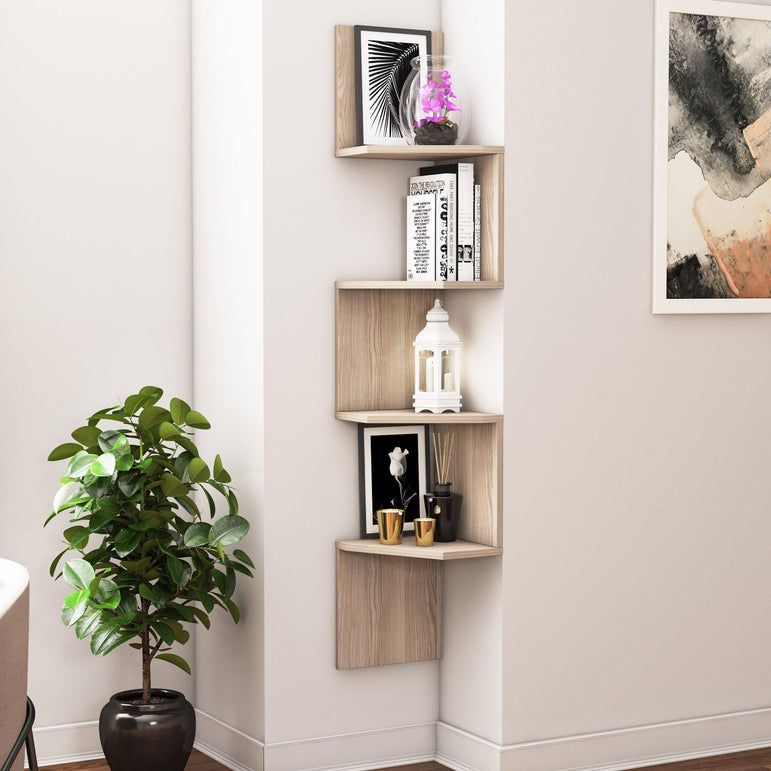 "Desaldo 61"" Tall Wall Shelf - Decorotika"