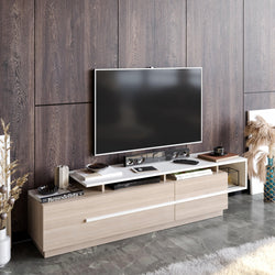 "Pia 71"" TV Stand and Media Console for TVs up to 80"" - Decorotika"