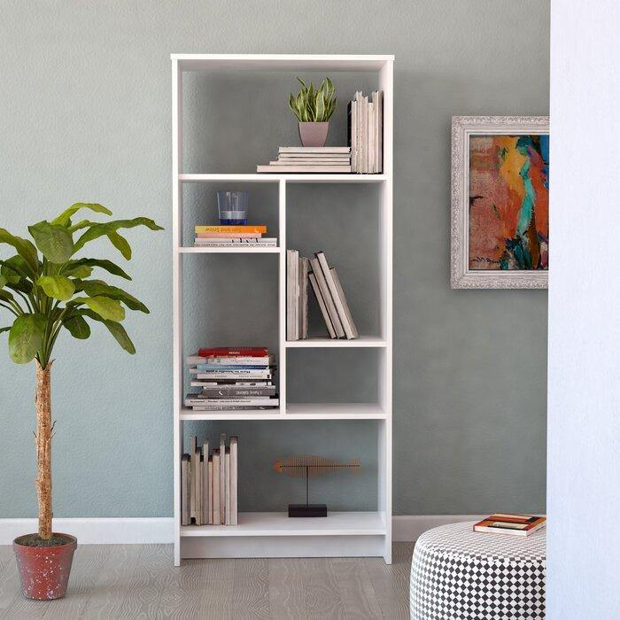Manhattan 69'' Tall Modern Bookcase - Decorotika