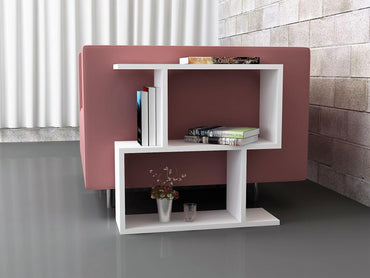 Sara Modern Side End Table with Open Shelves - Decorotika