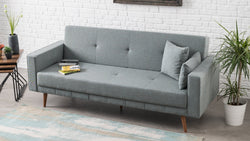 Dublin Sofa Bed - Light Blue - Decorotika