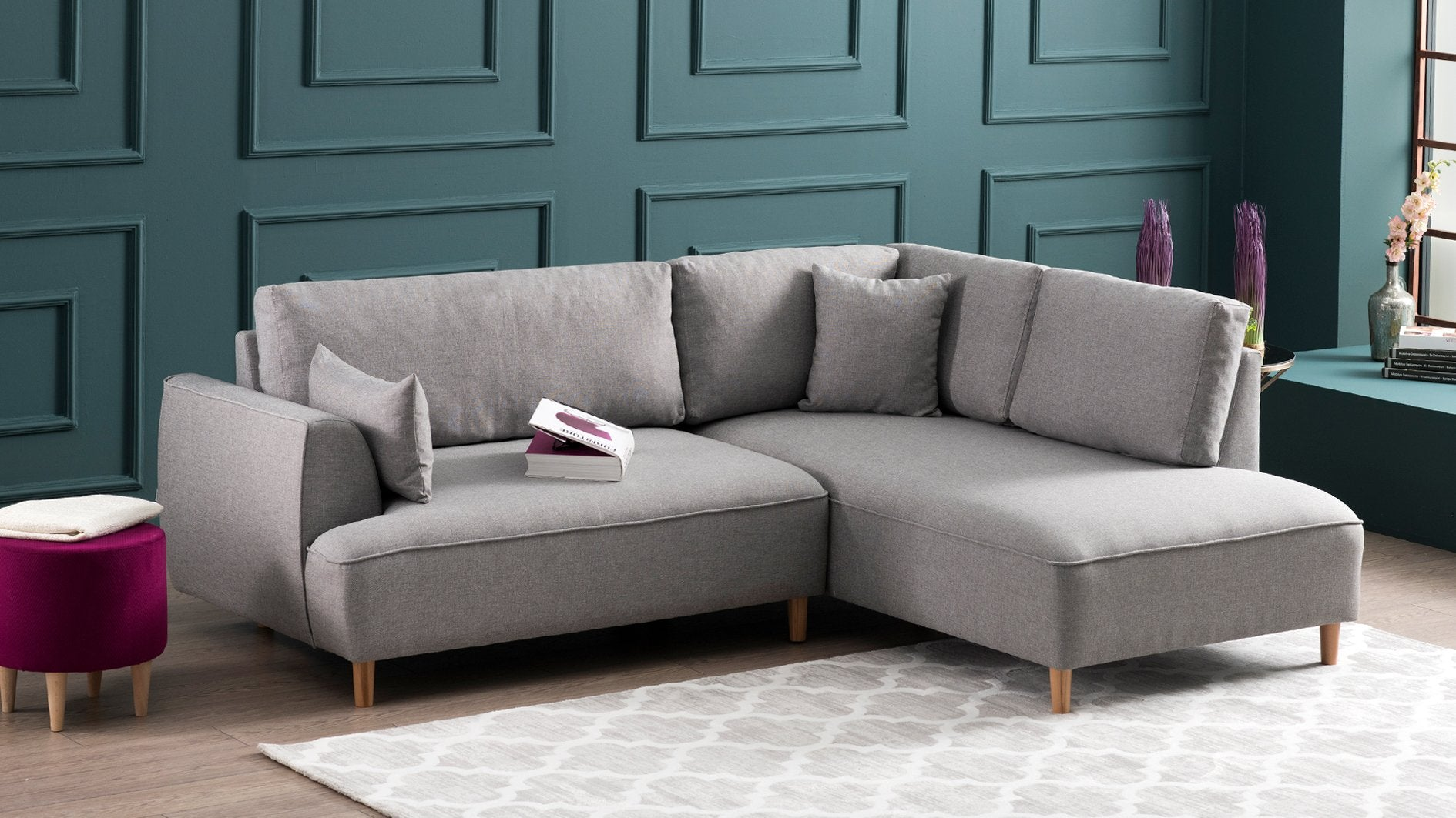 Felix Right-Hand/Left-Hand Corner Sofa - Decorotika