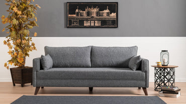 Bella Sofa - Gray - Decorotika