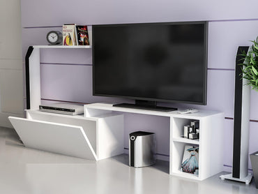 Elena 59'' Wide TV Stand & Entertainment Center - Decorotika