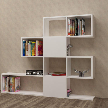 "Karlin 43"" Tall Accent Bookcase - Decorotika"