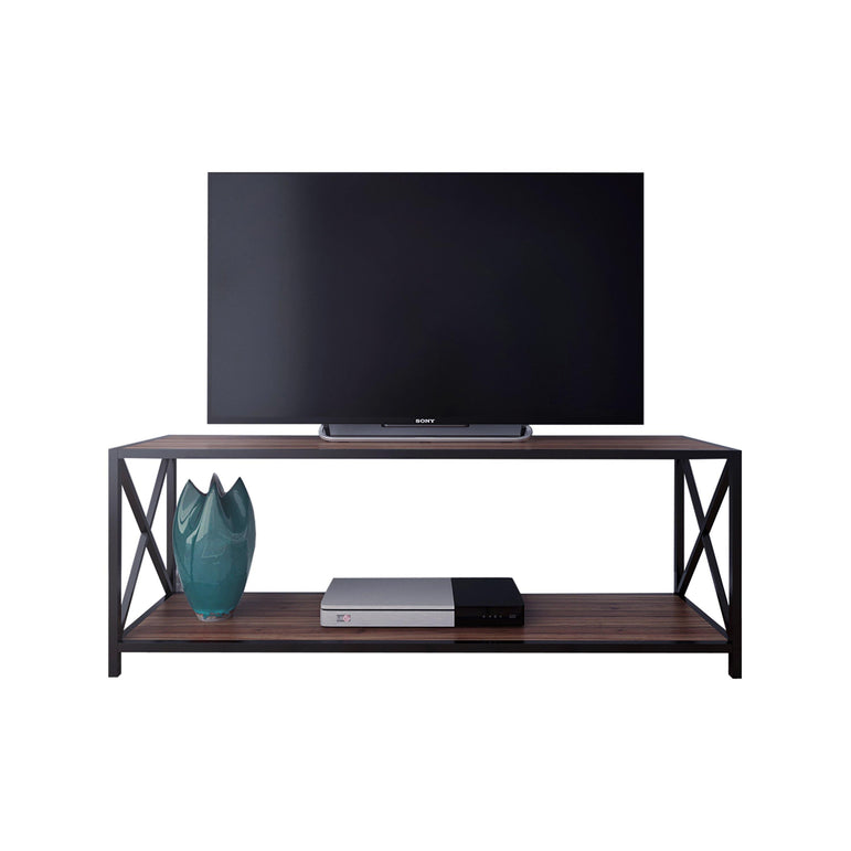 Xena 47'' Wide Metal Wood TV Stand & Media Console for TVs up to 55'' - Decorotika