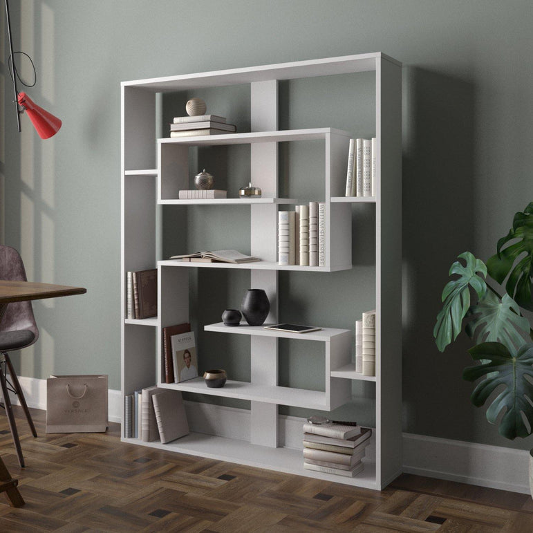 Esteban 61'' Tall Geometric Bookcase - Decorotika