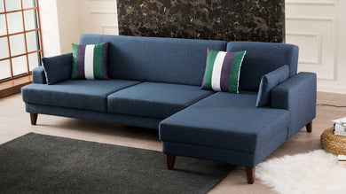 Kana Right-Hand Corner Sofa Bed - Decorotika