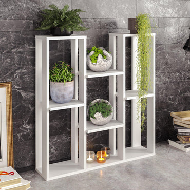 Nevada Multi-Tiered Plant Stand That Accommodates up to Nine Potted Plants/Flowers - Decorotika
