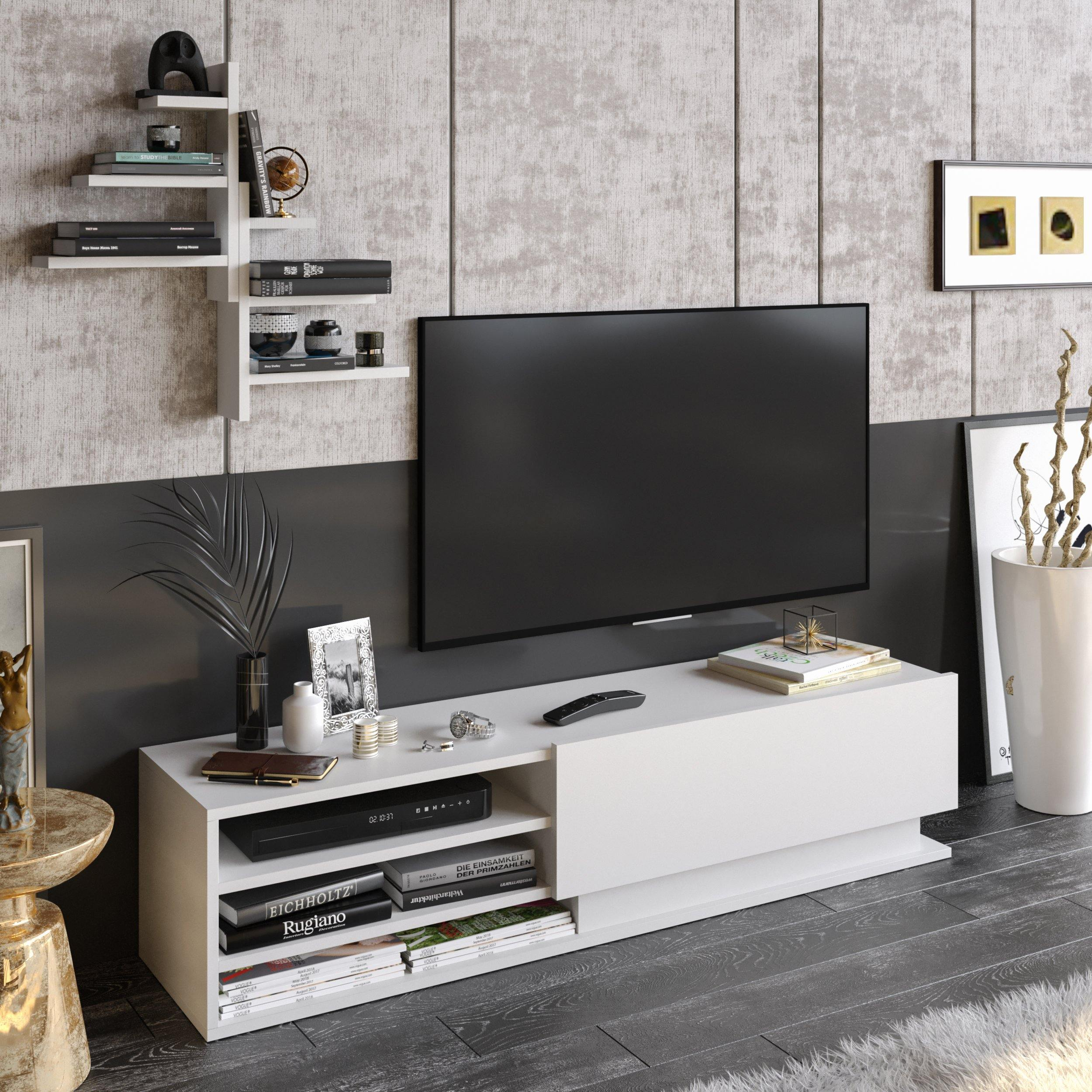 Linda TV Stand and Media Console for TVs up to 67