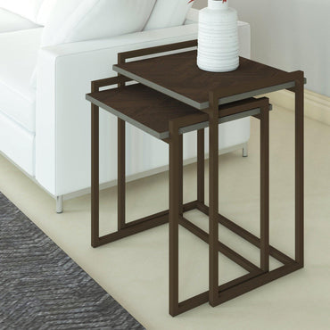 Linea 2 Piece Nesting Coffee Table Set - Decorotika