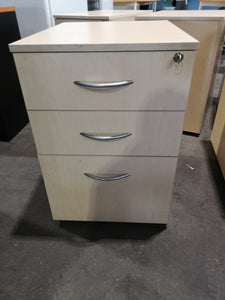 2 drawer 1  file mobile pedestal