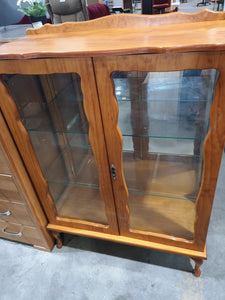 Baltic pine display unit