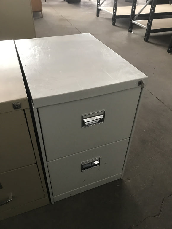 2 Drawer filing cabinet a11a