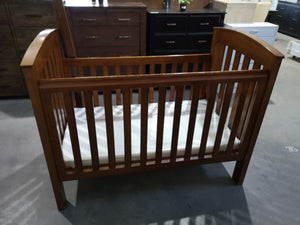 Bertini cot with new foam mattress