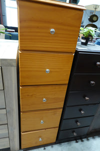 Slim Tallboy 5 drawers