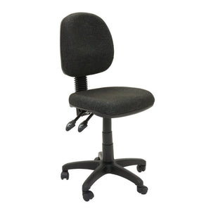 EC070BM Medium Back Fabric Chair with Back Tilt and Gas Lift