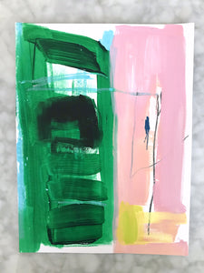 ORIGINAL, ABSTRACT EXPRESSIONIST PAINTING
