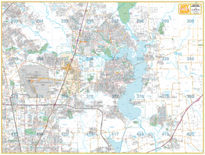 Northeast Harris County - Houston Map Company