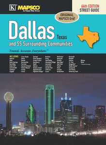 Dallas Texas Steet Guide - Houston Map Company