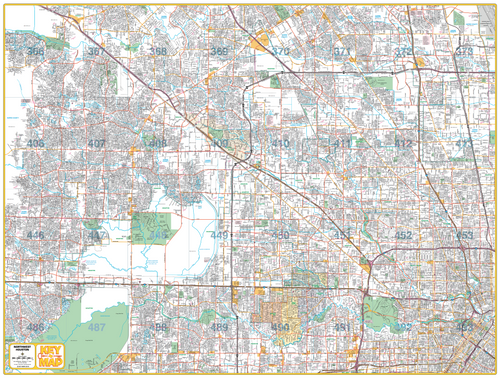 Northwest Houston - Houston Map Company