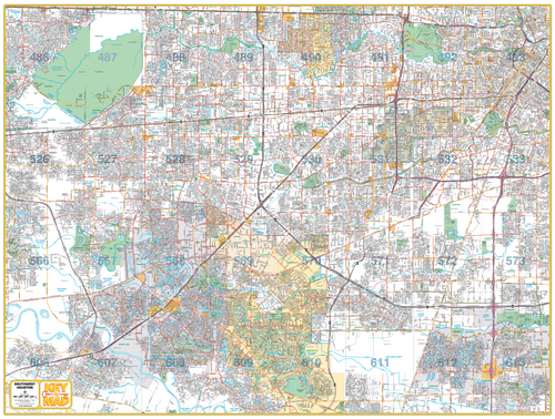 Southwest Houston Map - Houston Map Company