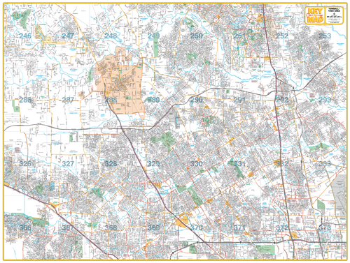 Tomball/ 1960 Area - Houston Map Company