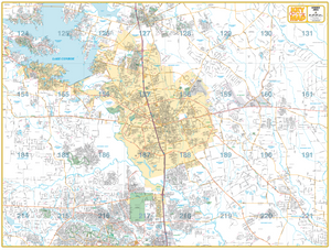 Conroe - Houston Map Company