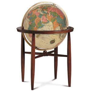 "Finley 20"" Floor Globe - Houston Map Company"