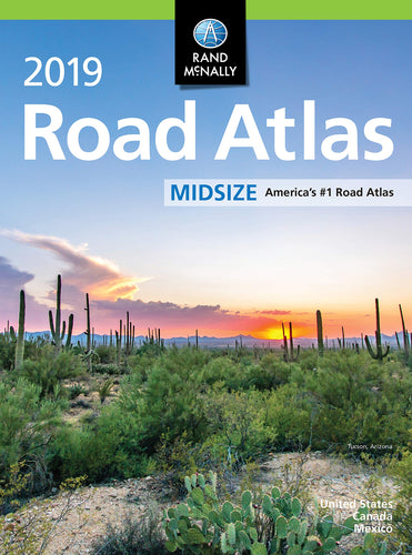 Rand Mcnally 2019 Road Atlas Midsize
