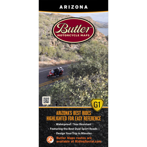 Arizona Folding Map - Butler - Houston Map Company