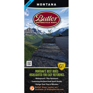 Montana Folding Map - Buler - Houston Map Company