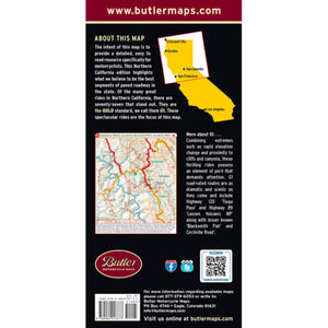 Northern California Folding Map - Butler