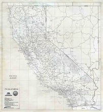 California Rustic Wall Map - Houston Map Company