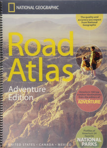 National Geographic Road Atlas - Adventure Edition - Houston Map Company