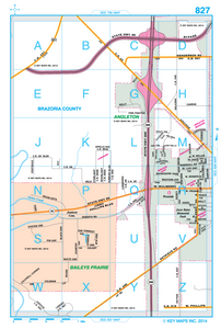 Galveston/Brazoria County - Houston Map Company