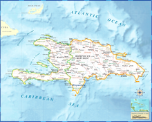 Haiti Dominican Republic - Houston Map Company