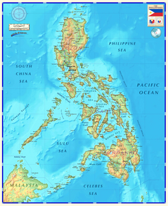 Phillippines Map - Houston Map Company