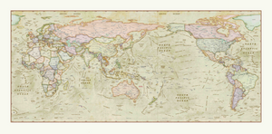 Decorative Wall Maps on