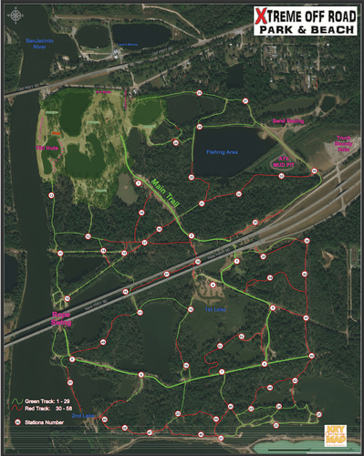 Xtreme Off Road Park - Houston Map Company