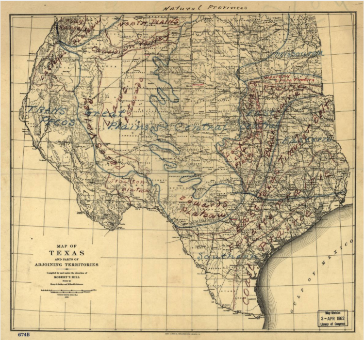 Texas Natural Provinces