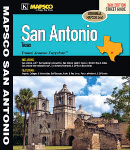 San Antonio Mapsco Atlas - Houston Map Company
